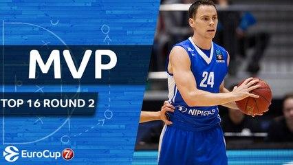 Top 16 Round 2 MVP: Kyle Kuric, Zenit St Petersburg
