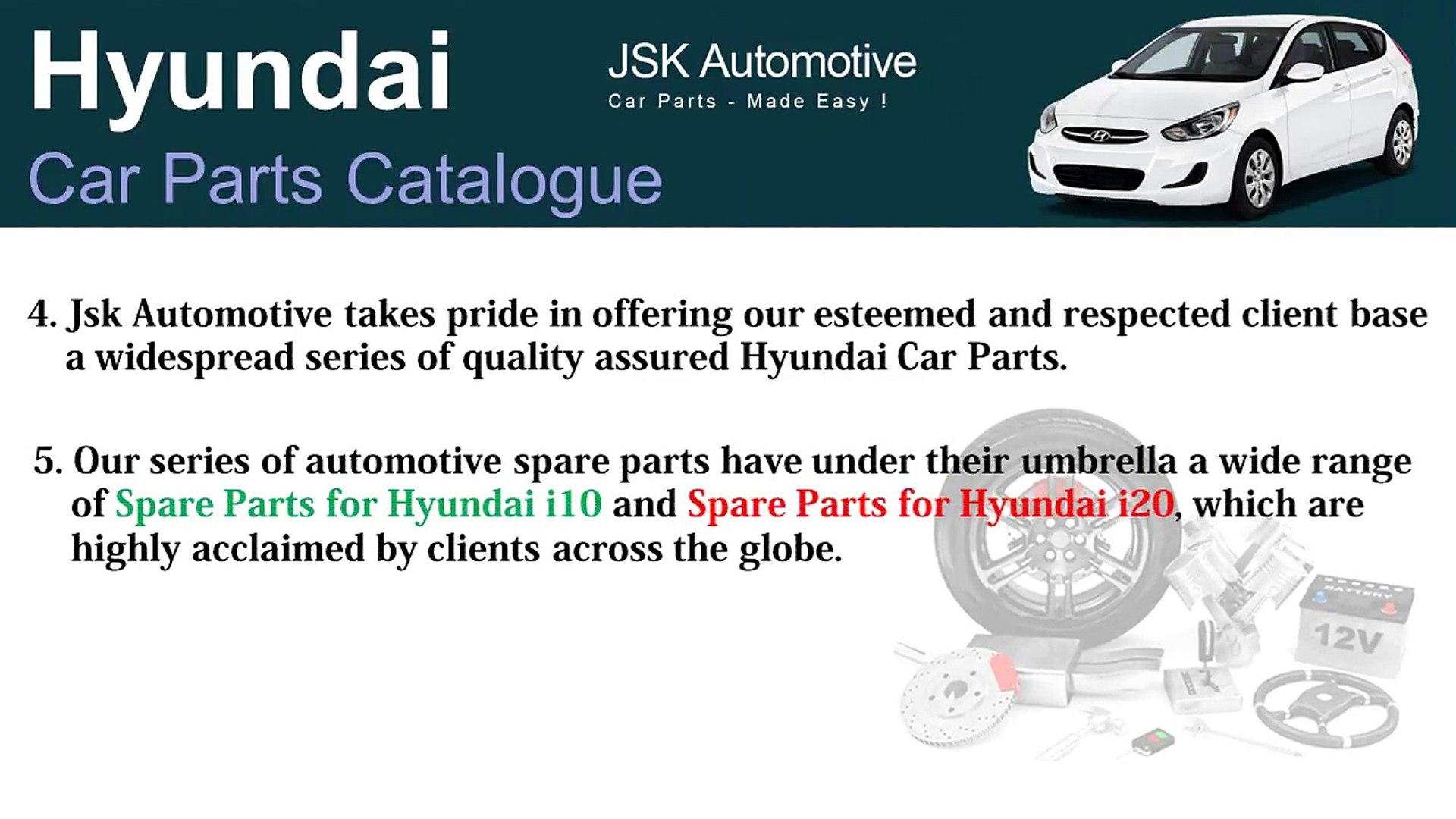 Hyundai Car Parts Name - Hyundai Car Parts Catalogue - Hyundai Spare Parts  Online