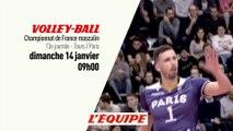 VOLLEY - LNV : Tours vs Paris, bande annonce