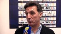 Réactions de Christophe Pélissier - Amiens SC - Paris SG