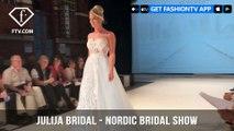 Julija Bridal Fashion Wedding Dresses for a Princess Nordic Bridal Show 2017   FashionTV   FTV