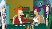 Futurama Bender Enfermo Latino