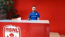 Geoffrey Jourdren parle de la concurrence entre gardiens à l'ASNL avant le match à Niort