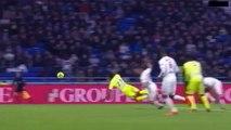Karl Toko Ekambi Penalty Goal HD - Lyon 0-1 Angers 14.01.2018