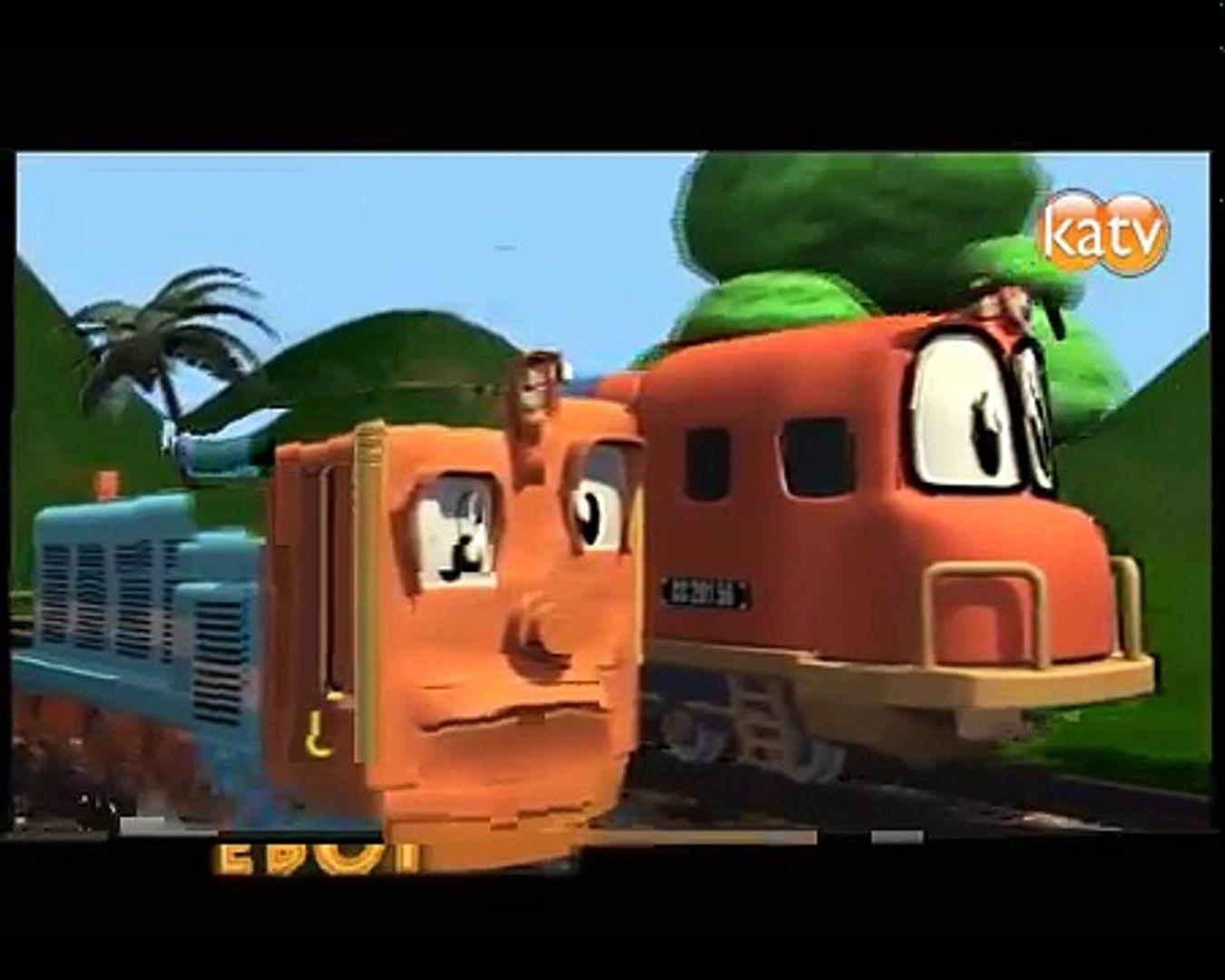 Serial Jengki4 Animasi Kereta Api