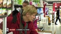 Belgique : la banque à la caisse