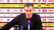 DFCO-Metz : conférence d'avant match d'Olivier Dall'Oglio