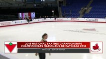 Practices (Sr Ladies):  2018 Canadian Tire National Skating Championships (18)