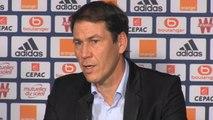 """FOOTBALL: Ligue 1: 20e j. - Garcia: """"On peut être plus continu dans un même match"""""""