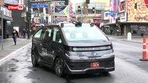 CES 2018 - On a testé la voiture autonome de Navya dans les rues de Las Vegas