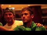 Neymar e David Luiz tietam David Beckham em Miami. Veja!