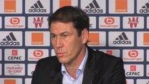 """FOOTBALL: Ligue 1: 20e j. - Garcia: """"Pas suffisamment de munitions pour nos attaquants"""""""