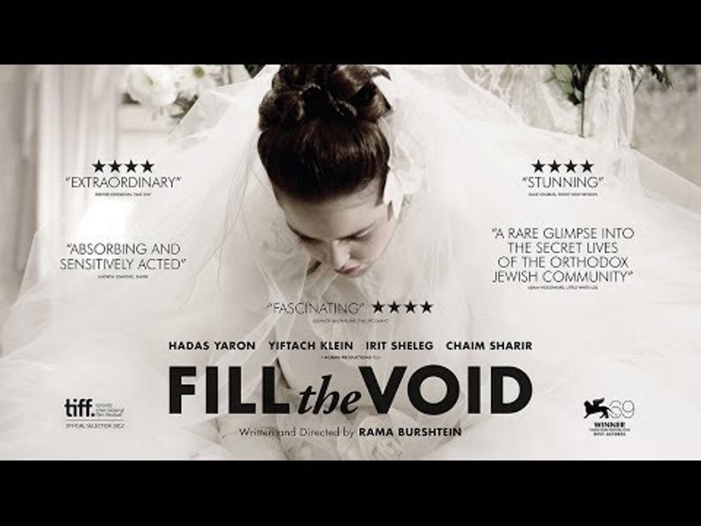 Fill the Void trailer - in cinemas & on demand from 13 December 2013