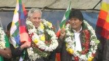 """Evo Morales defiende propiedades de la hoja de coca durante el """"Día Nacional del Acullico"""""""