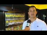 Craque da Seleção de Futsal visita o Museu Seleção Brasileira