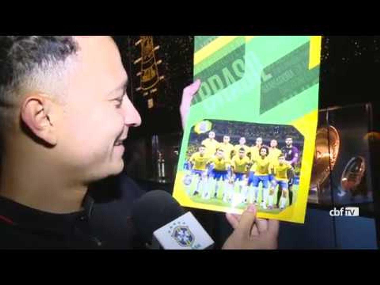 Desimpedidos: Fred visita o Museu Seleção Brasileira