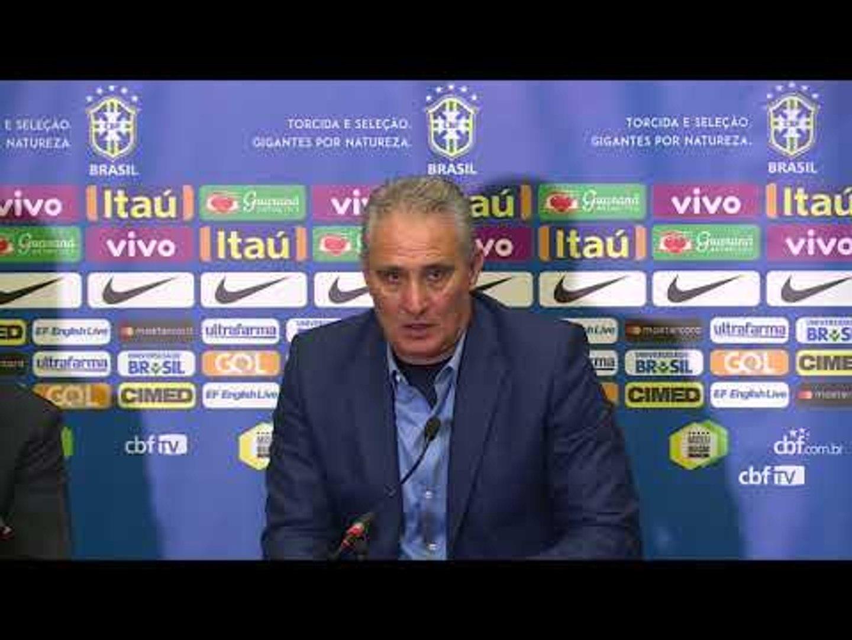 Seleção Brasileira: coletiva com Tite - 14/11/2017