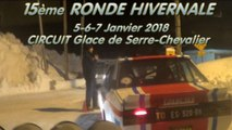 RONDE HIVERNALE 2018-Circuit Glace Serre Chevalier-Fiat 131 Abarth