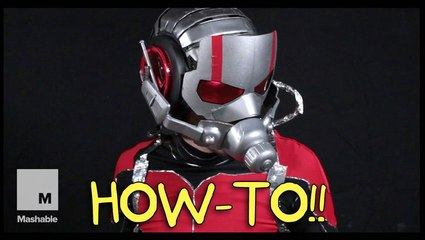 How to build your own Ant-Man suit out of household supplies