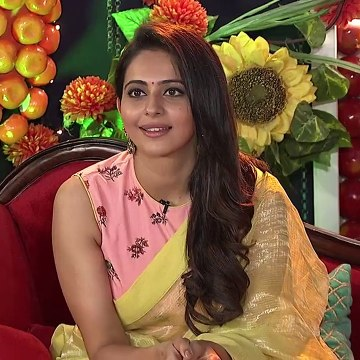 Telugu TV Actress Bhanusri Super Hot Dance (Rakul Preet Singh Cute Expressions)
