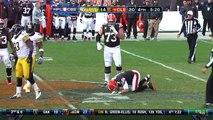 2012 - Cleveland Browns quarterback Brandon Weeden injured