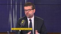 """Lactalis : """"ll faut mettre des règles claires et c'est le rôle de l'Etat d'être intrusif, dirigiste sur les grandes boîtes et sur les distributeurs"""" estime Luc Carvounas, député du Val-de-Marne, candidat à la direction du PS"""