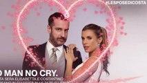 Elisabetta Canalis piange in tv per il padre scomparso, il dramma a Le Spose di Costantino