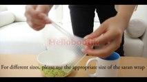 4Pcs-Lot Reusable Silicone Food Wraps