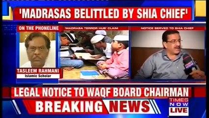 Shia Waqf Board Chairman Wasim Rizvi Wants To Make Political Gain, Says Tasleem A Rahmani