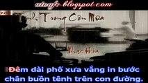 Tình Trong Cơn Mưa - Nguyễn Thắng - Karaoke - Karafun