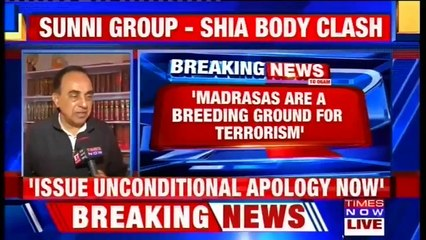 Madrasas Are A Breeding Ground For Radical Thinking, Says BJP Leader Subramanian Swamy