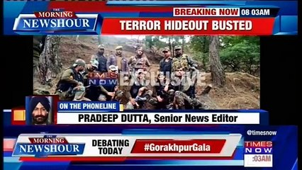 Terror Hideout Busted In Rajouri, Arms And Ammunition Recovered