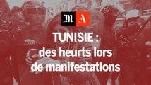 Tunisie, des manifestations anti-austérité émaillées de heurts