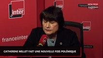 """Catherine Millet se dit plus gênée par un """"cigare"""" qu'une """"main sur la cuisse"""" (Vidéo)"""