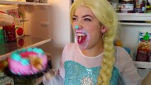 Frozen Elsa EATING DISORDER!! w  Spiderman Joker Hair Trouble Cake Fun Superhero in real life IRL | Superheroes | Spiderman | Superman | Frozen Elsa | Joker