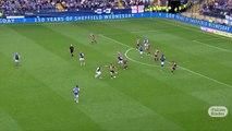 David Brooks nutmegs Jack Hunt | Sheffield Wed vs Sheffield Utd