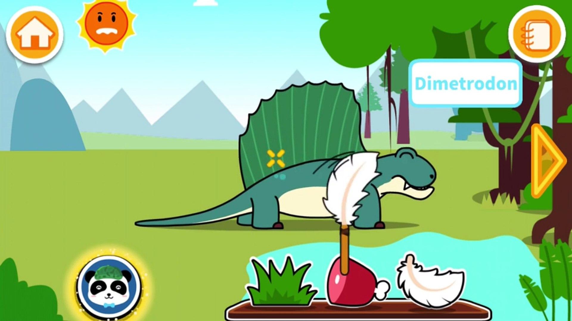 Children Learn Jurassic World Dinosaurs Fun Education Kids Games