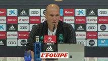 Foot - ESP - Real : Zidane «On doit retrouver notre meilleur niveau»
