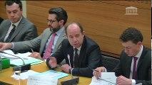 Lutte contre le terrorisme (mission de suivi) : M. Jean-Jacques Urvoas, garde des Sceaux - Mercredi 18 janvier 2017