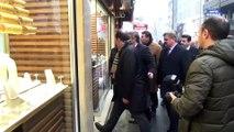Karacan, MHP ve AK Parti İl Başkanlıklarını ziyaret etti - ZONGULDAK