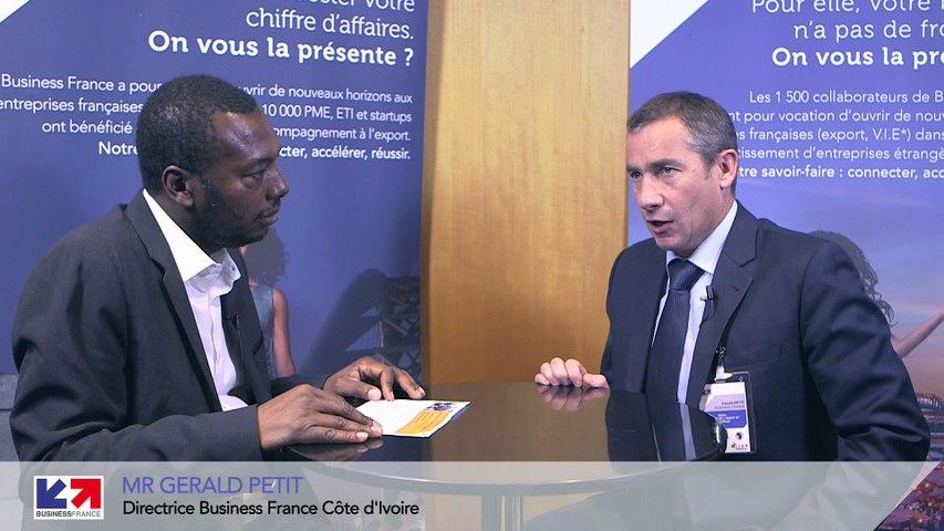 Le marché de la Côte d'Ivoire avec M. Gérald Petit (Business France) - par Africa Salons