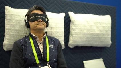 Vu au CES 2018 :  Philips Smart Sleep, un casque pour mieux dormir