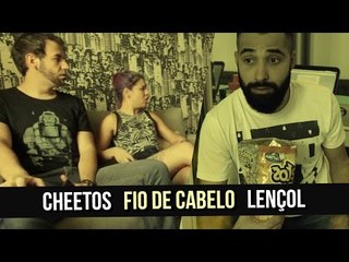 CHEETOS, FIO DE CABELO E LENÇOL | #rapidinhasnasarjeta 06