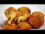 Bolinho de cuscuz com recheio de queijo   Receitas Guia da Cozinha