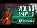 Review Violino 4/4 VA-10 Harmonics