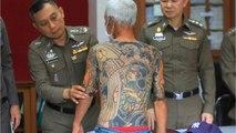 Japanese Mafia Fugitive Snagged After Viral Tattoo Photo