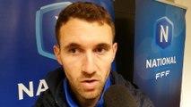 """Paul Maisonneuve après Pau FC - Lyon Duchère : """"On a des regrets par rapport à la première mi-temps"""""""