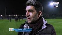 Interview entraîneur Laval