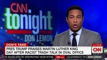Don slams Trump trying to celebrate Martin Luther King, Jr. after racist remarks: 'Kinda makes your skin crawl'
