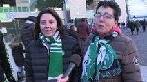 Réaction des supporters après ASSE-TFC